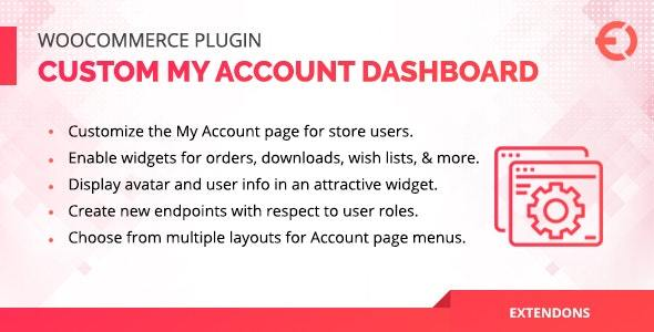 WooCommerce Account Dashboard Plugin