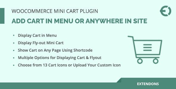 WooCommerce Menu Cart Plugin