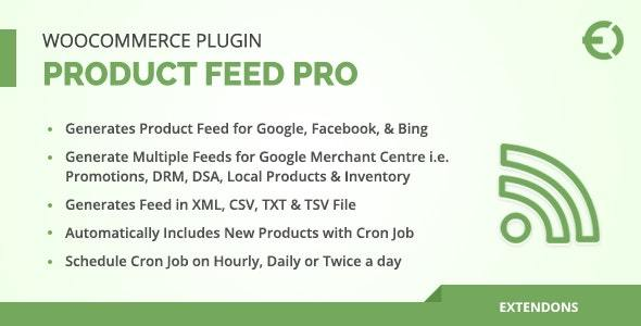 WooCommerce Product Feed Plugin